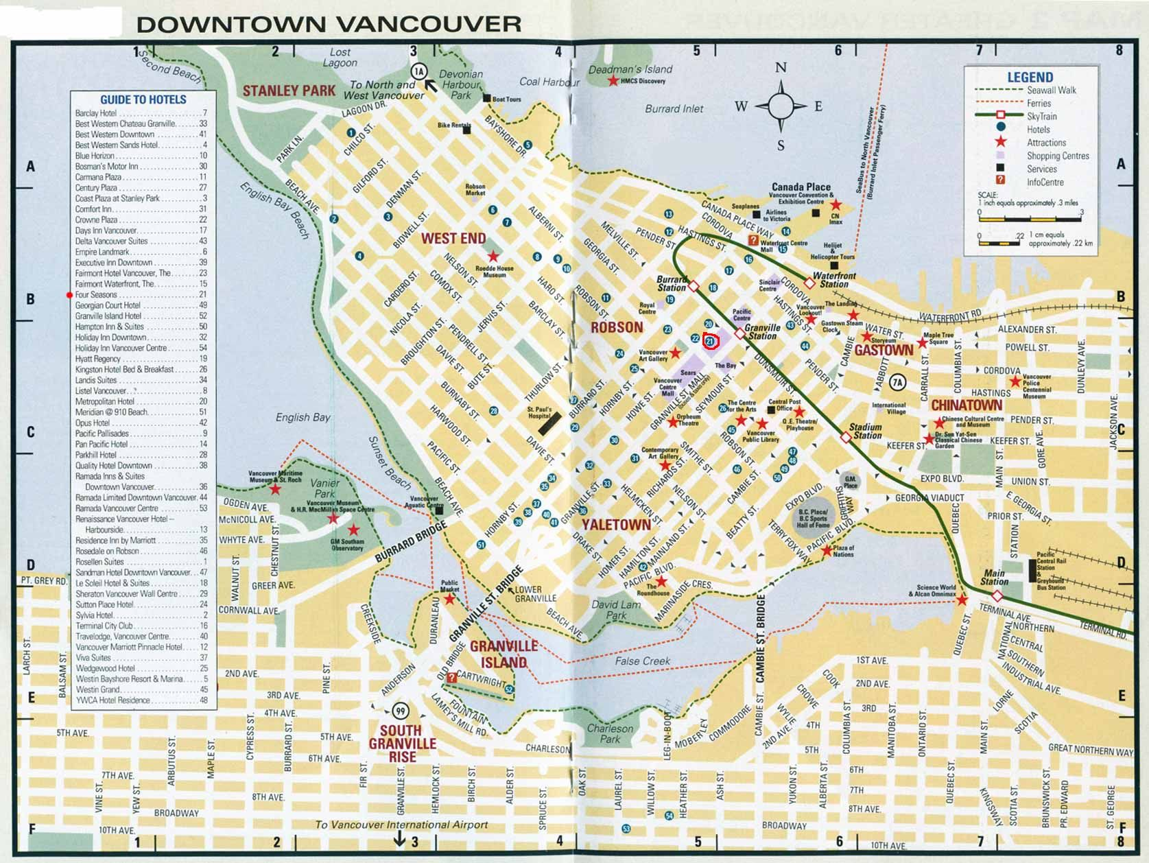 Map of vancouver canada large vancouver maps for free download map of vancouver canada large vancouver maps for free download high resolution and detailed gumiabroncs Images