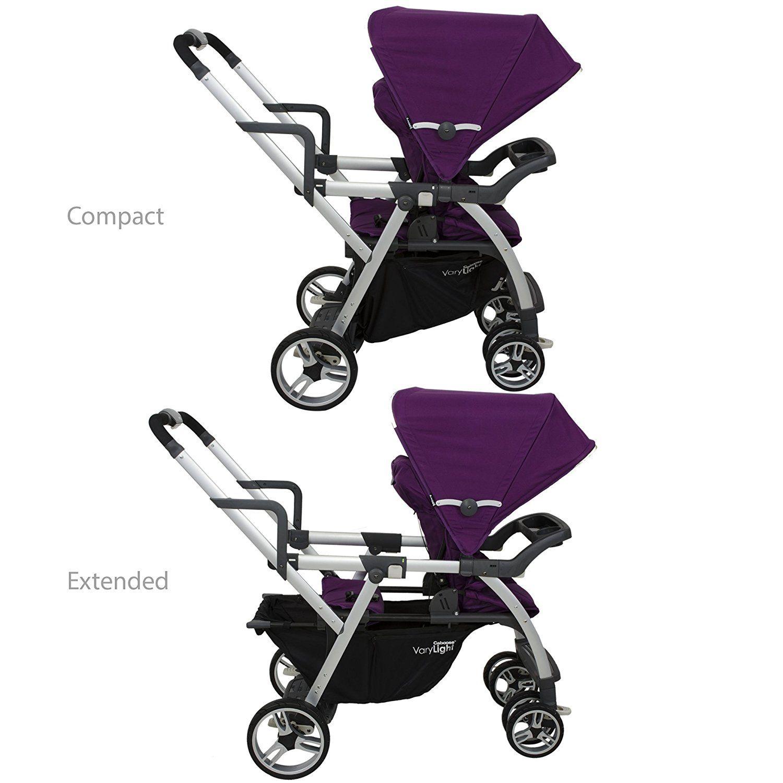 Joovy Caboose VaryLight Double Tandem Stroller Kids