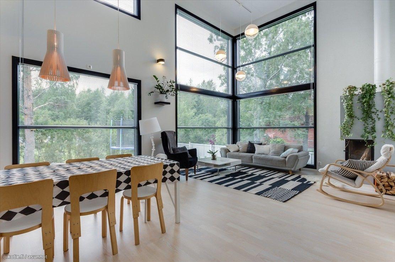 Myytävät asunnot, Lähteentie 18 B, Ylöjärvi #oikotieasunnot #olohuone #livingroom