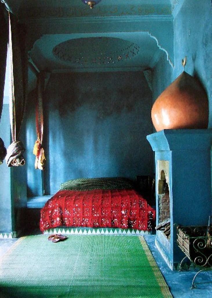 11 Somptueuses Chambres Décorées Sous Le Thème Marocain. Moroccan  BedroomMoroccan ...