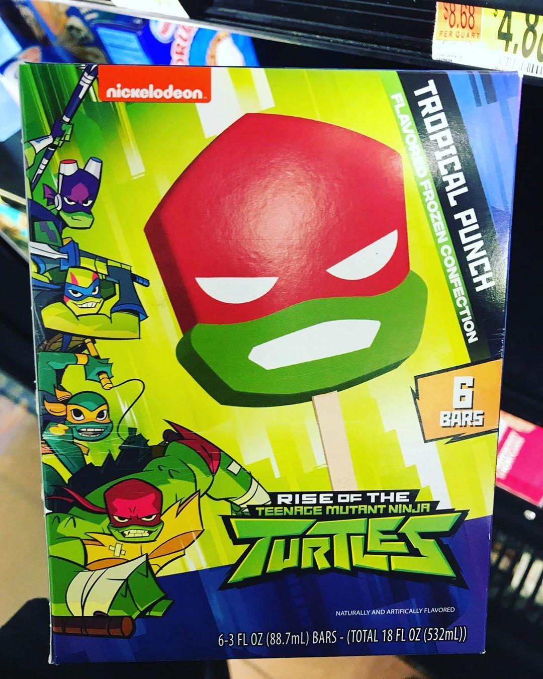 Rise Of The Teenage Mutant Ninja Turtles Ice Cream : teenage, mutant, ninja, turtles, cream, Tiara, Foooooood, Teenage, Mutant, Ninja, Turtles,, Tropical, Punch,