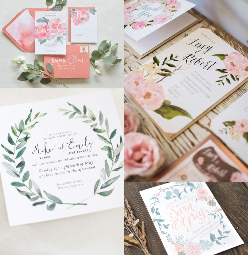 Trending Wedding Invitations: Wedding Invitation 2015 Trends