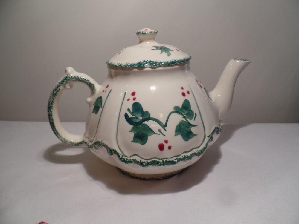 1986 Pottery Levine Ceramics Inc Teapot | eBay