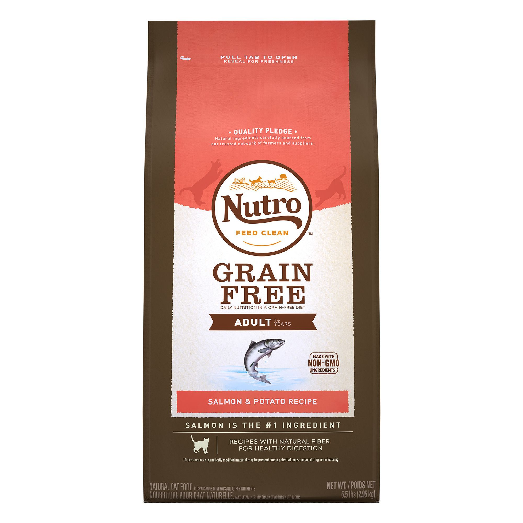Nutro Natural Choice Grain Free Adult Cat Food Size 6 5 Lb