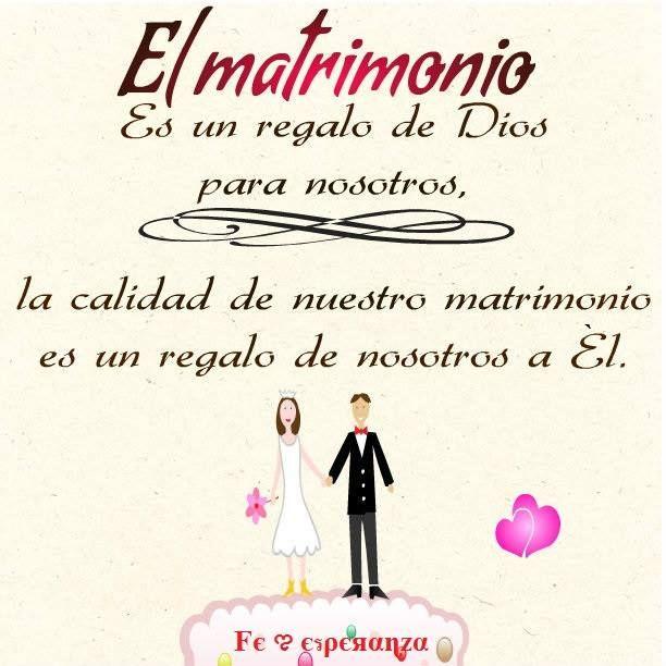 Matrimonio Que Es : El matrimonio es un don de dios a nosotros la calidad