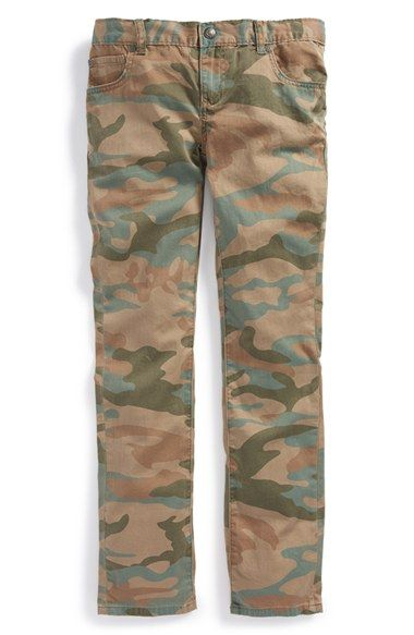 Peek 'Slouch - Camo' Straight Leg Jeans (Toddler Boys, Little Boys & Big Boys) available at #Nordstrom