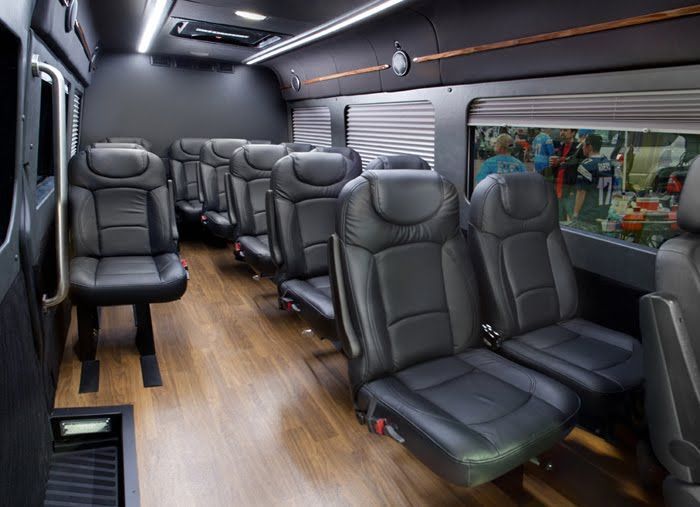 Group Travel Upgrade 13 Passenger Mercedes Sprinters Are Here