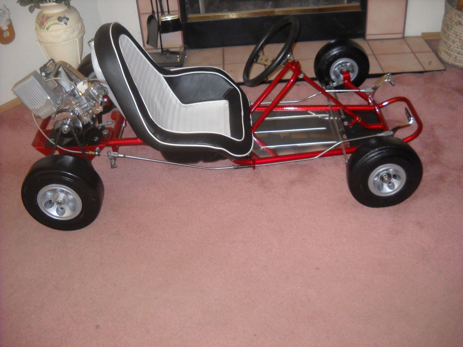 1962 Fox Racing Go-Kart in candy apple red | Go Karts, Mini Bikes ...