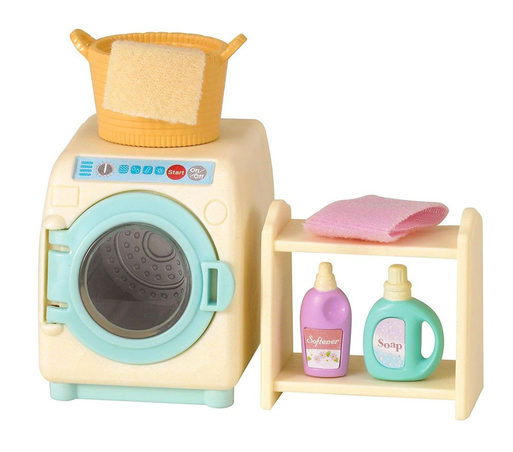 Sylvanian Families Calico Critters Washing Machine Set