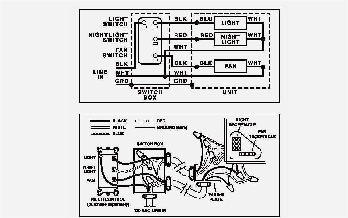 Wiring Diagram Bathroom Light Switch Wiring Bathroom Heater Fan
