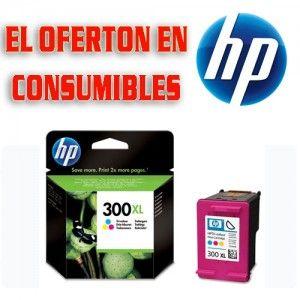 Cartucho De Tinta Original Hp 300xl Cc644ee Tinta Color