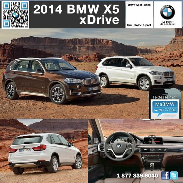 le nouveau bmw x5 2014 proposera 3 mod les et 3 moteurs. Black Bedroom Furniture Sets. Home Design Ideas