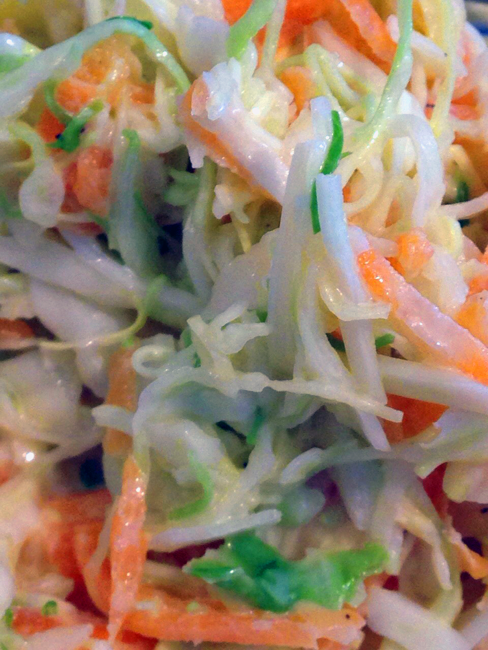 Perfect Cole Slaw - transports Husband back to childhood family picnics :)