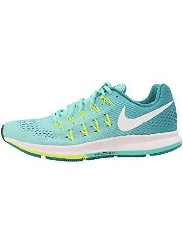d47adddeb303f1 Nike Air Zoom Pegasus 33 Hyper TurquoiseWhiteClear JadeVolt Womens Running  Shoes     Want additional info  Click on the image.