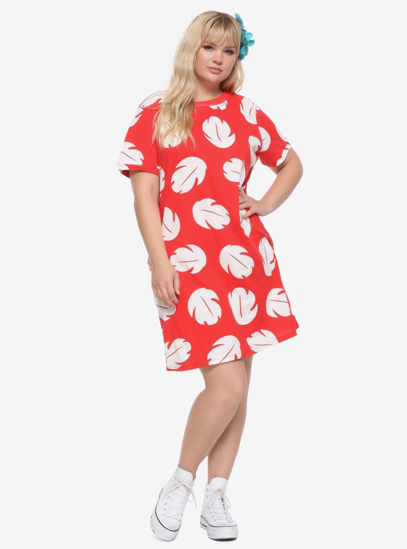 Disney Lilo & Stitch Lilo TShirt Dress Plus Size in 2020