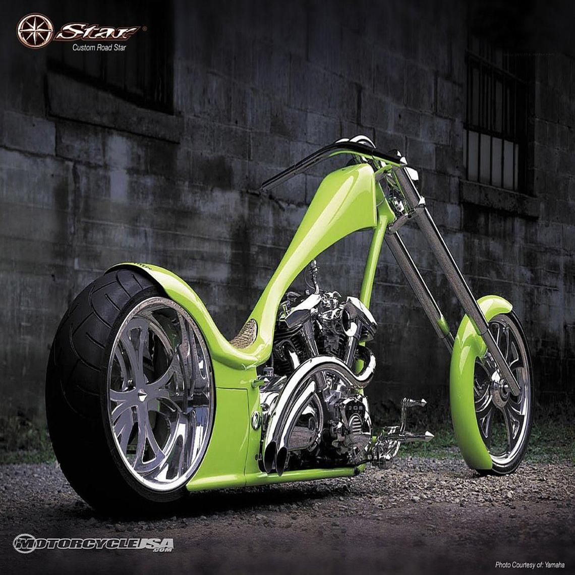 Custom Yamaha Road Star Chopper