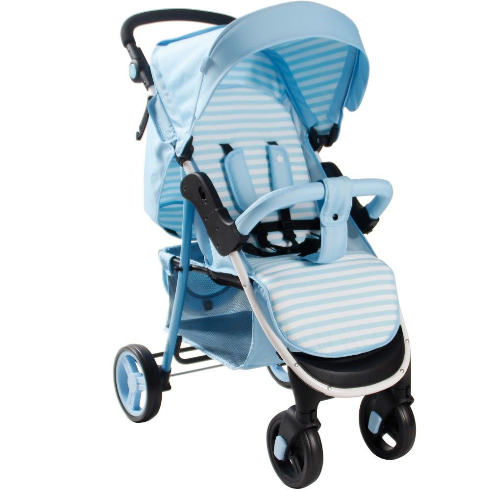 Buy My Babiie MB30 Pushchair (Baby Blue Stripes