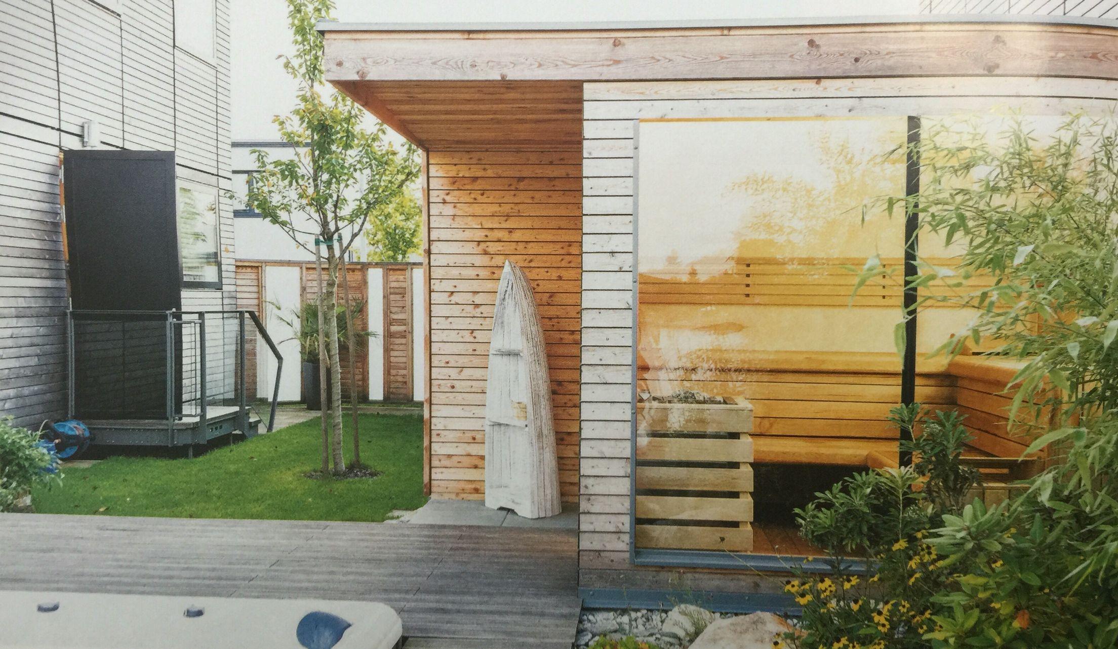 Außensauna außen außen saunas