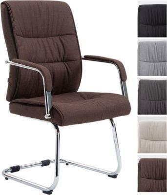 Freischwinger Stuhl SIEVERT Mit Stoff Bezug, Konferenz Stuhl Gepolstert,  Besucherstuhl Mit