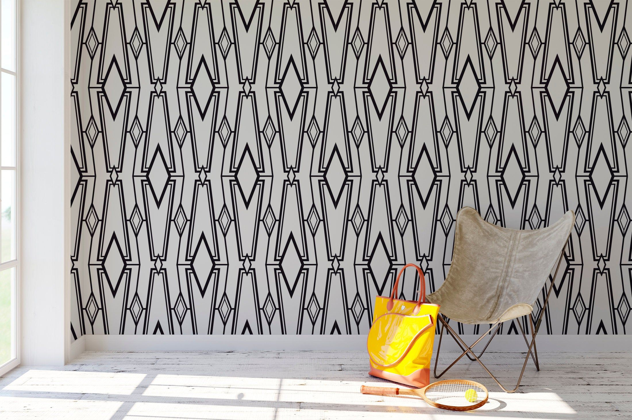 High Quality Peel And Stick Removable Self Adhesive Wallpaper Etsy Peel And Stick Wallpaper Tribal Wallpaper Home Wallpaper