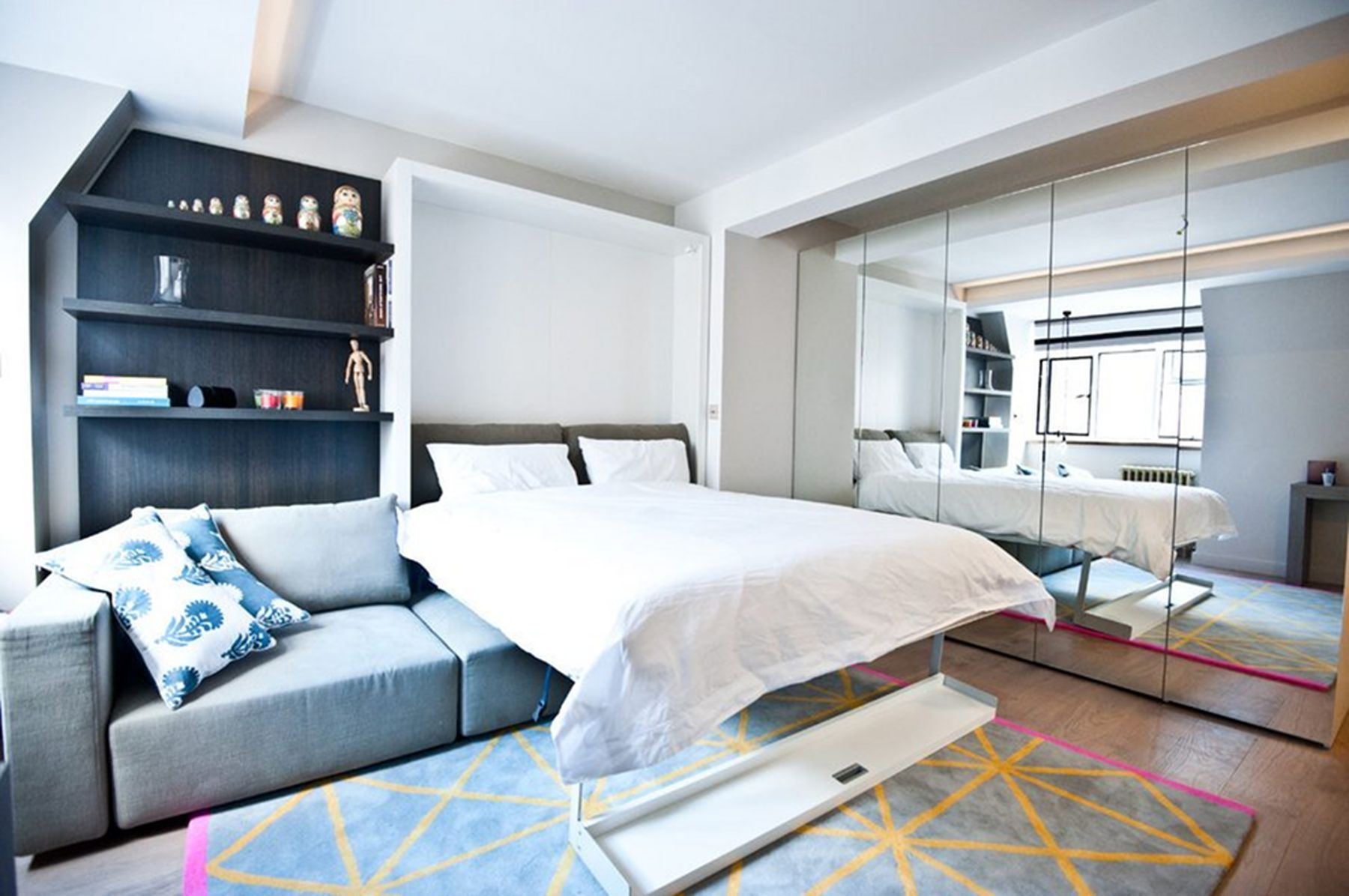 10 Creative Design Ideas In Small Bedrooms To Create A Comfortable
