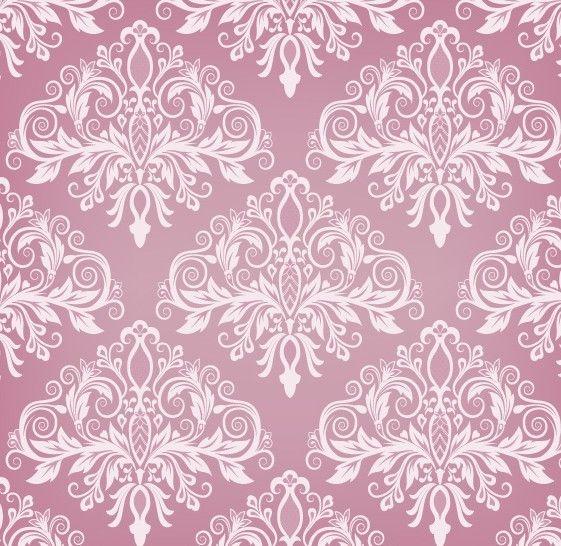 pink vintage backgrounds pink vintage floral pattern