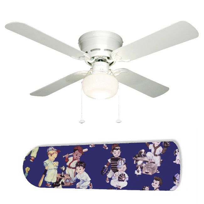Baby boys baseball 42 ceiling fan and lamp baby boy baseball baby boys baseball 42 ceiling fan and lamp mozeypictures Choice Image