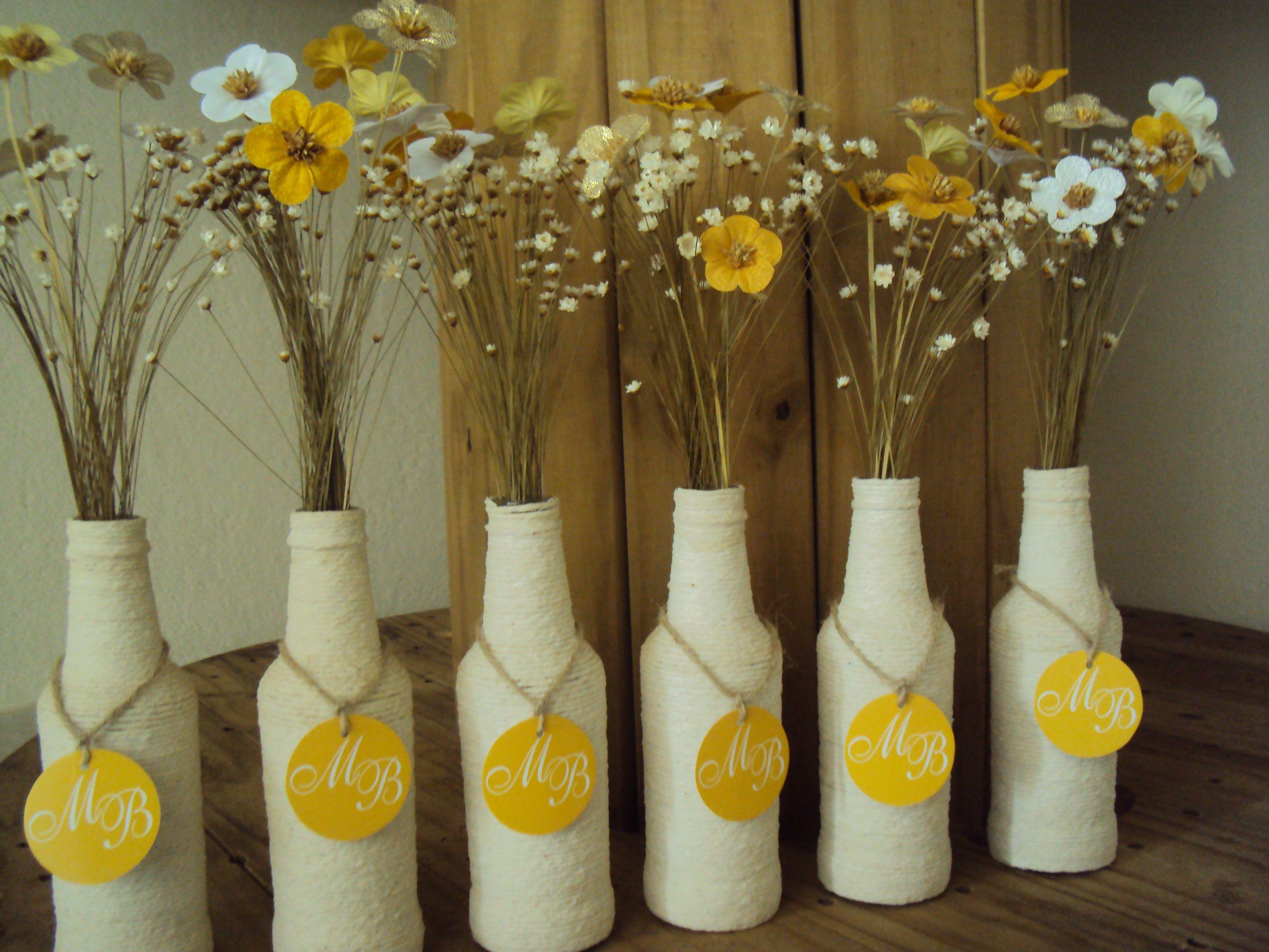 Famosos Resultado de imagem para decoração com garrafas | Lọ | Pinterest  EG58