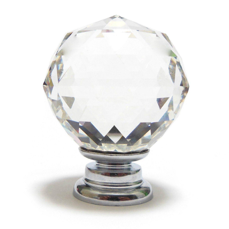 Mylb small 30mm clear crystal glass cupboard door knob affiliate mylb small 30mm clear crystal glass cupboard door knob affiliate planetlyrics Gallery