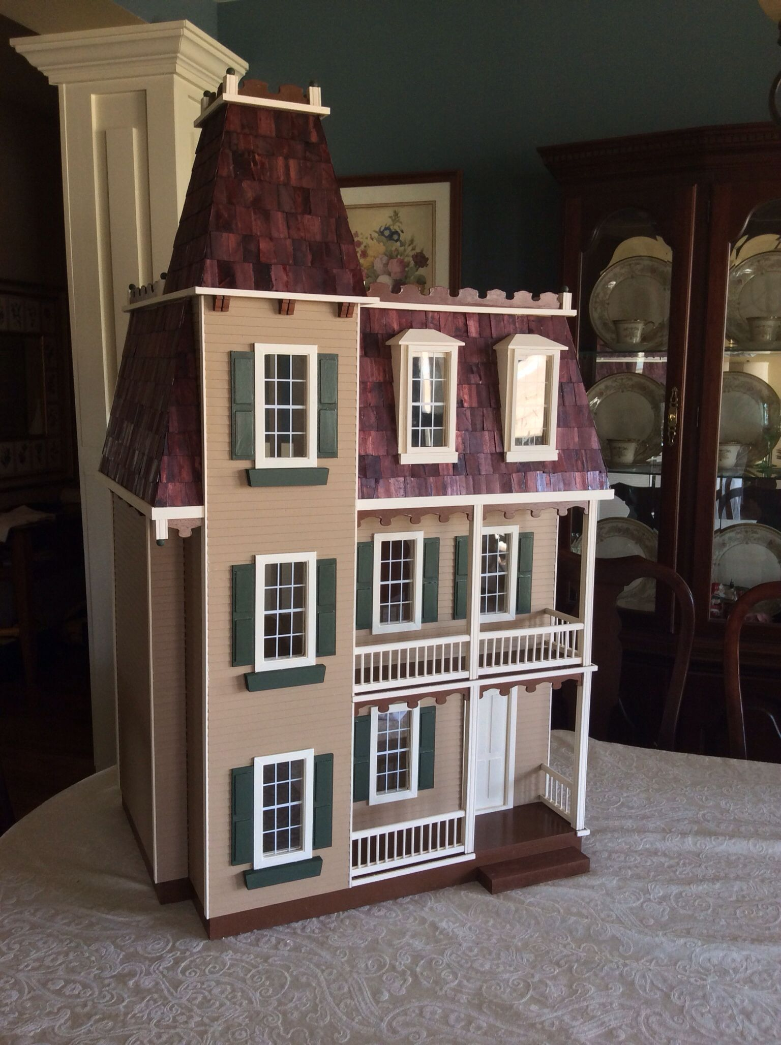 allison jr. #dollhouse | brown dollhouse | pinterest | dollhouses
