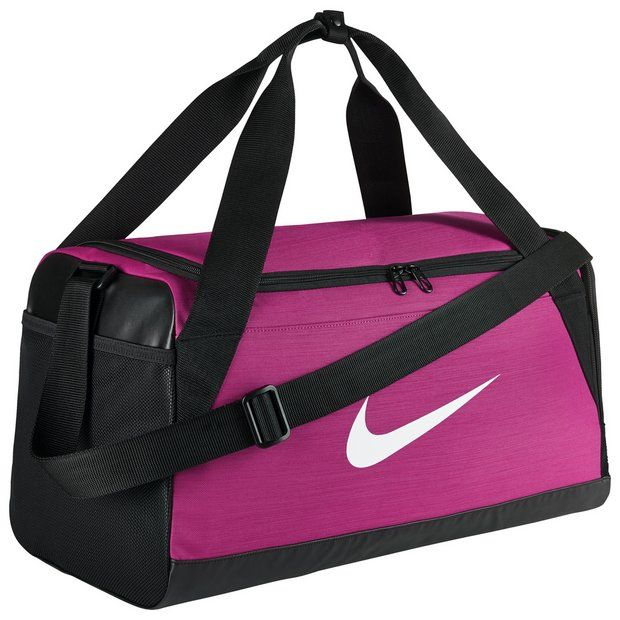 Buy Nike Brasilia Small Holdall - Pink at Argos.co.uk - Your Online ... 7333fb1c3cd73