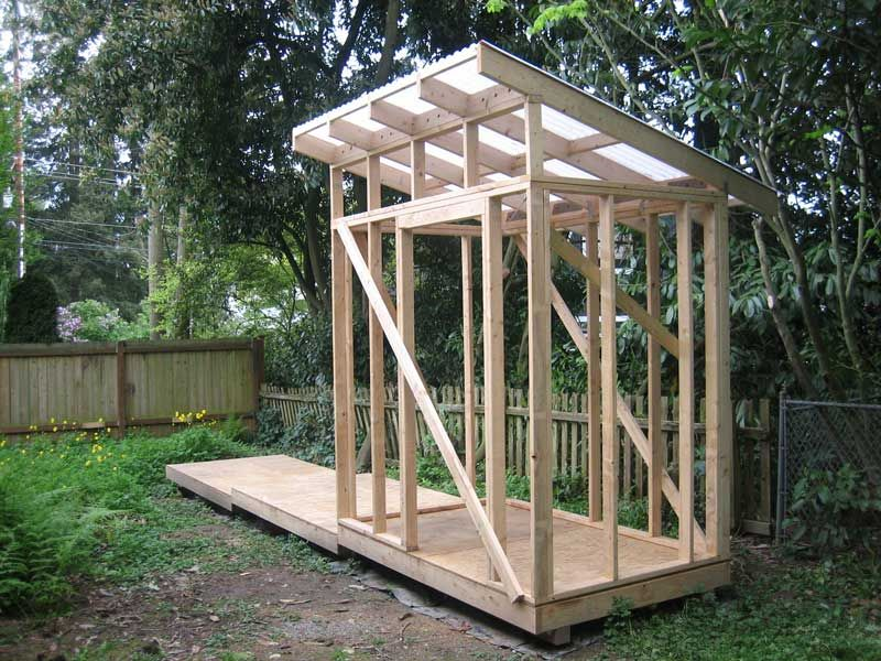 The Rat Hole Shed Part 5 Roof Shed Frame Building A Shed Roof Shed Construction