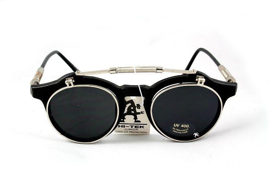 retro 1950s sunglasses vintage 1980s Steampunk Goth steampunk flip ...