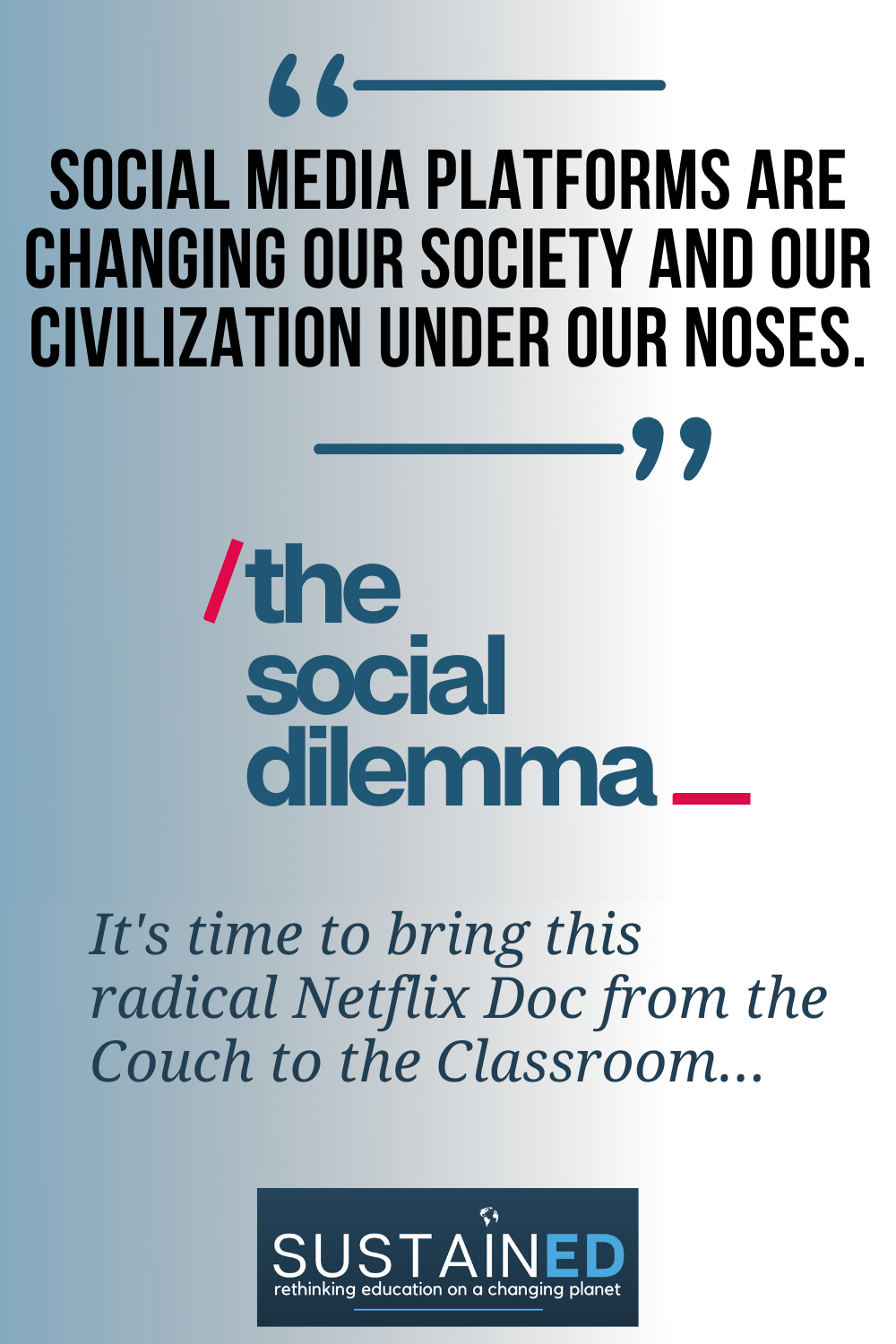 The Social Dilemma Netflix Movie Guide Profits Donated In 2021 Movie Guide Science Lesson Plans Lesson