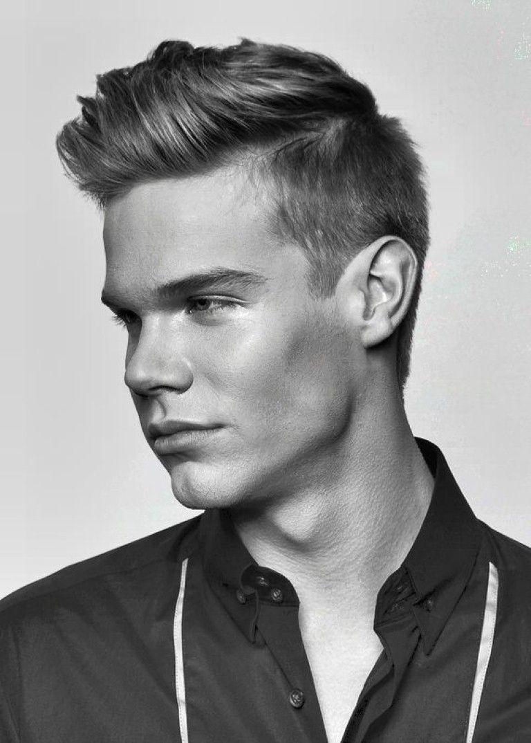 Elegant Mens Haircuts Short At The Sides Long On Top Awesome Mens Short .