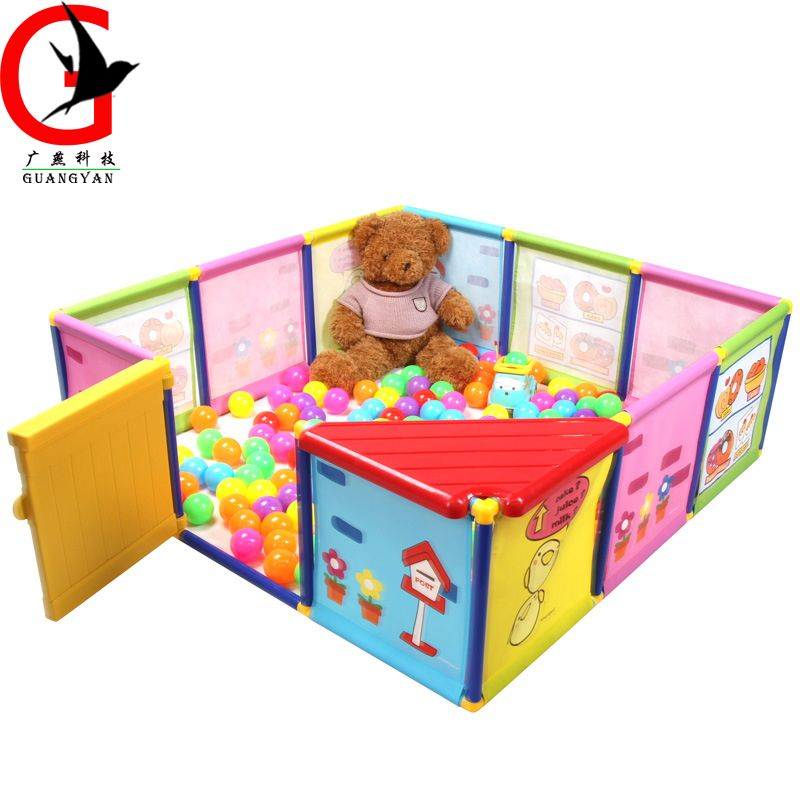 Indoor Baby Playpens Children\'s fence children\'s safety game fence ...