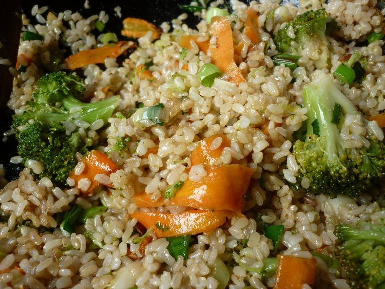 Receta Cocina Viajera Arroz Yamani Integral Con Vegetales Vegetales Recetas Comida Vegetales