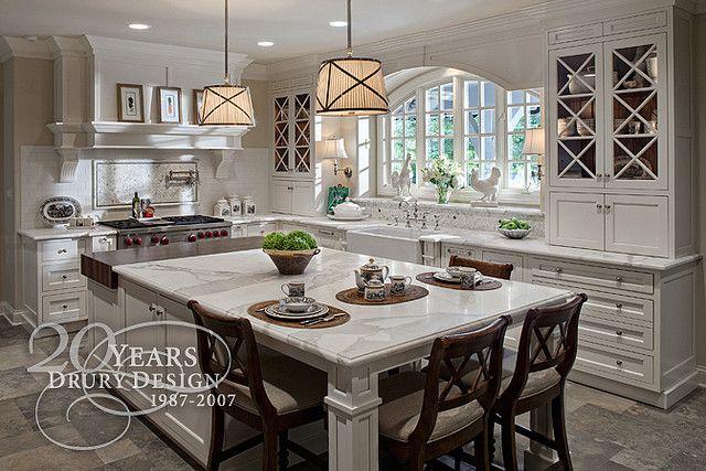 M s de 25 ideas incre bles sobre cocinas blancas tradicionales en pinterest cocinas de sue os - Cocinas tradicionales blancas ...