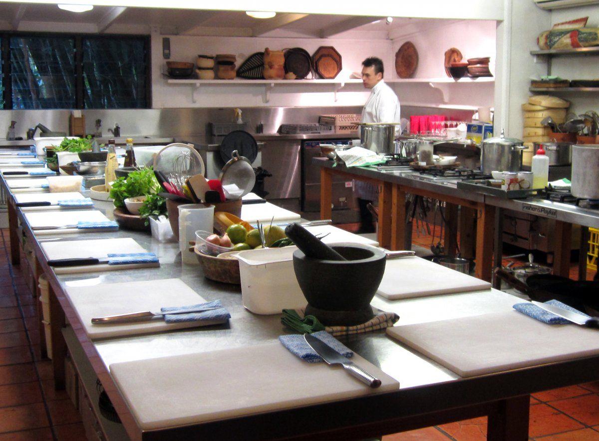 Best Spirit House Cooking School Design Kitchen Simple Design 400 x 300