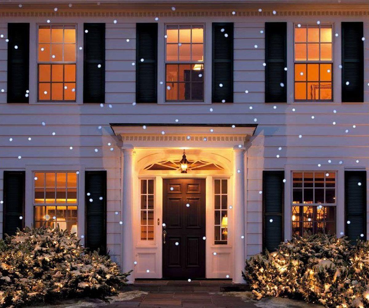 Led snow flurry projection light clark griswold green box and led snow flurry projection light mozeypictures Images