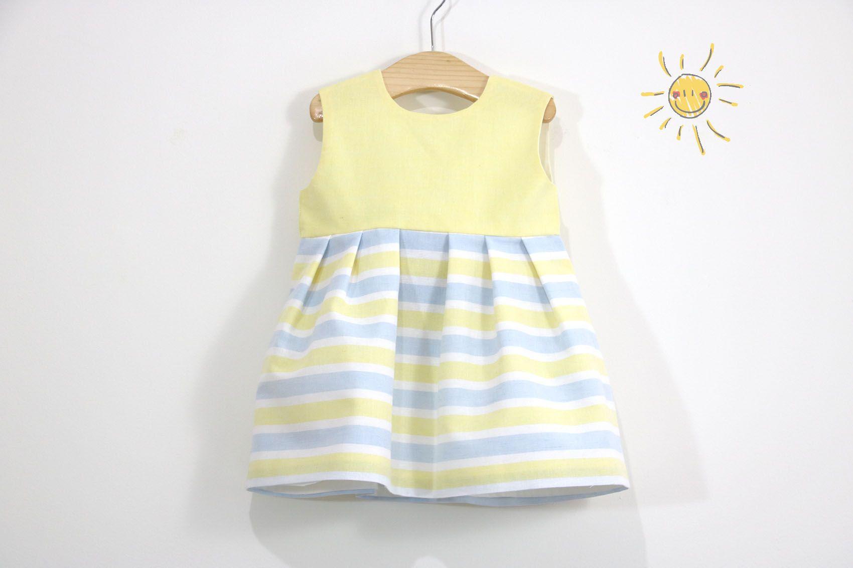 Costura: Vestido niña (patrones gratis talla hasta 8 años) | | Oh ...