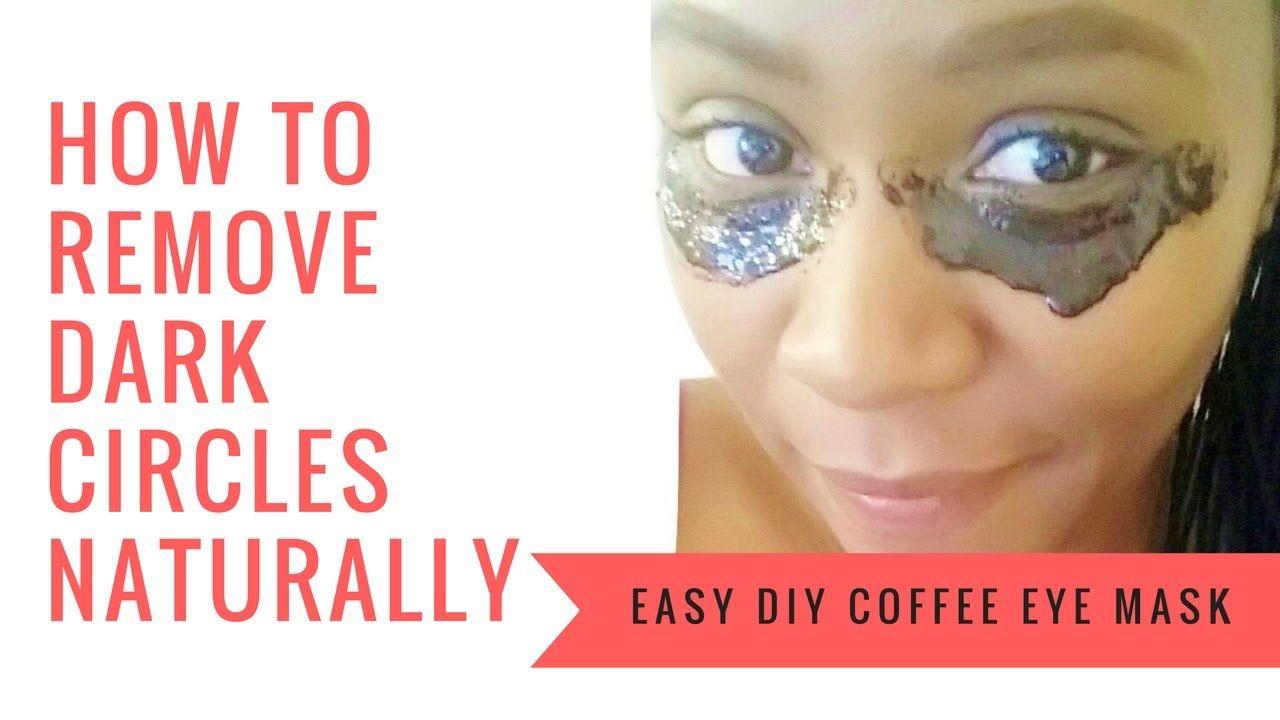 Coffee eye mask for dark circles puffy eyes get rid of