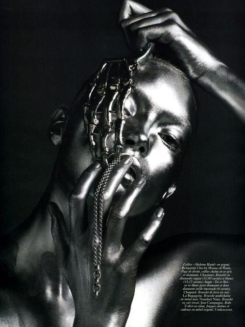 Portrait - Silver - Editorial - Photography