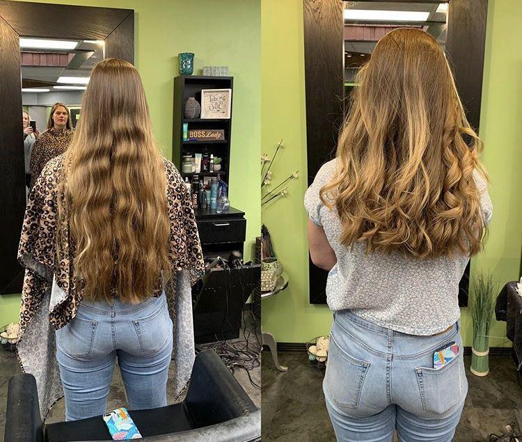 Pin von Frisuren & Haarpflege auf Umstyling vorher nachher