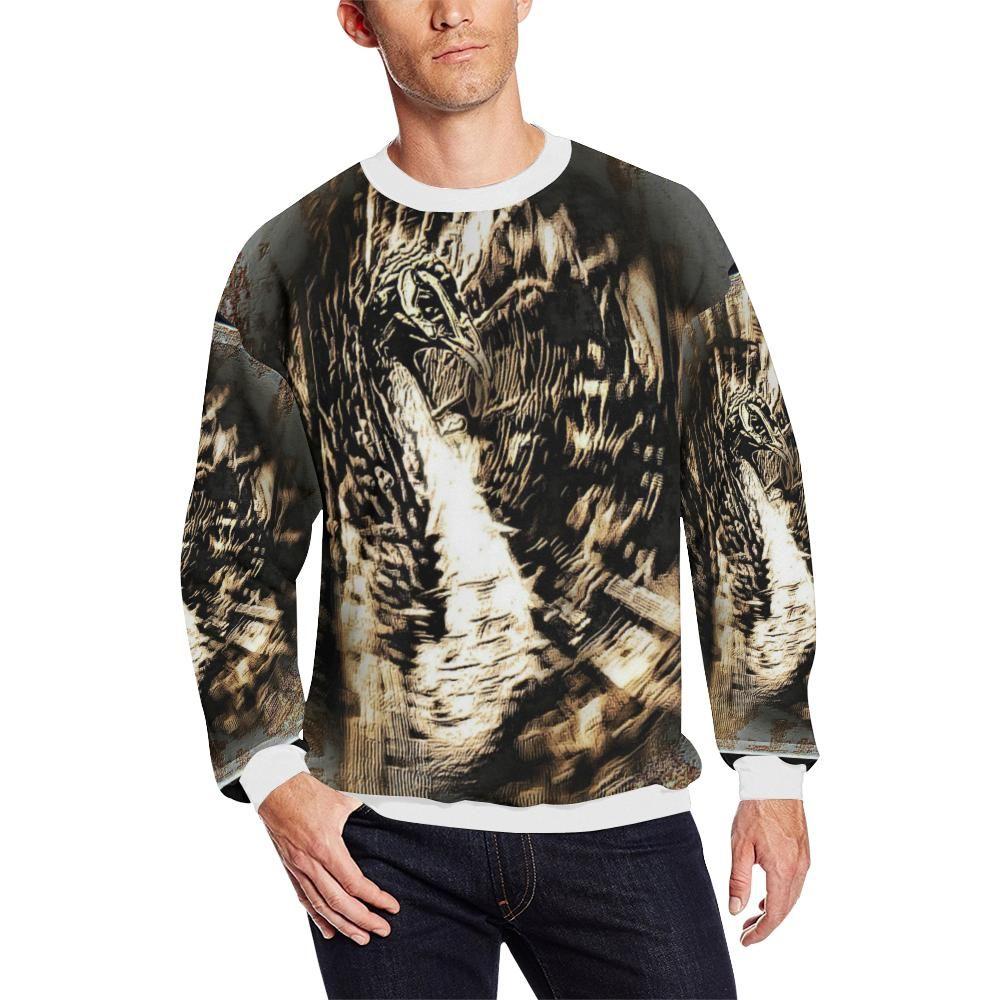 Bird Models Psychedelic Peacock 01 Men S Aop Sweatshirt Plus Size Printed Sweatshirts Plus Size Men Sweatshirts [ 1000 x 1000 Pixel ]