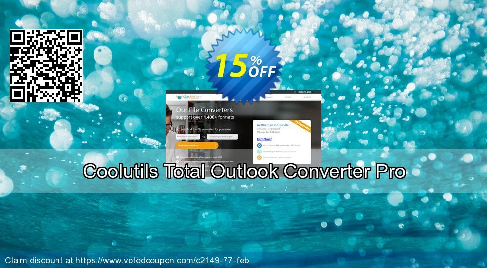 Coolutils Total Outlook Converter Pro Coupon code, 15