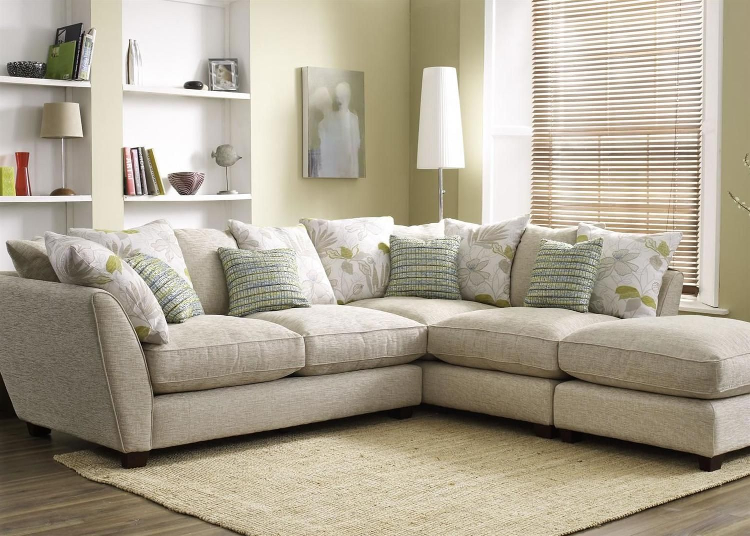 Love Your Home Corner Sofa Small Sleeper Ashwood Fuji Collection From George Tannahill