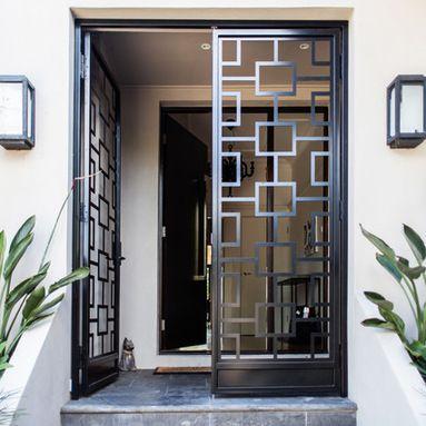 Gates/entry | Burglar Bars | Pinterest | Gates, Doors and Front doors