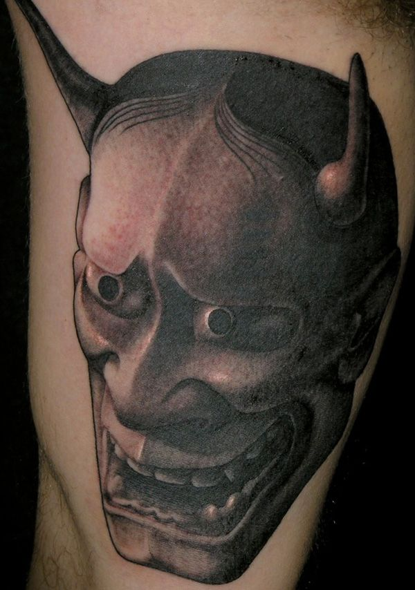 japanese hannya mask tattoo by tim hendricks tattoos i want pinterest hannya mask tattoo. Black Bedroom Furniture Sets. Home Design Ideas