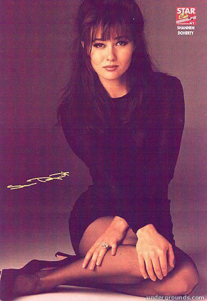 Shannen Doherty - luv this look on her :D